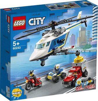 Конструктор LEGO CITY Police Погоня на полицейском вертолёте