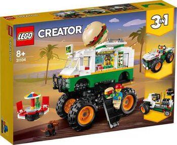 Конструктор LEGO CREATOR Грузовик Монстрбургер