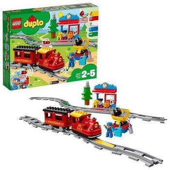 Конструктор LEGO DUPLO Town Поезд на паровой тяге