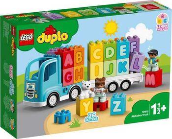 Конструктор LEGO DUPLO My First Грузовик Алфавит