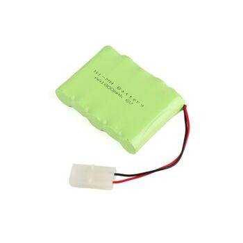 Аккумулятор Ni-Mh AA 6v 1800mah форма Flatpack разъем TAMIYA