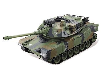 Радиоуправляемый танк HouseHold USA M1A2 Abrams - зеленый хаки