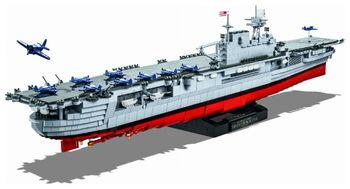 Пластиковый конструктор COBI USS Enterprise